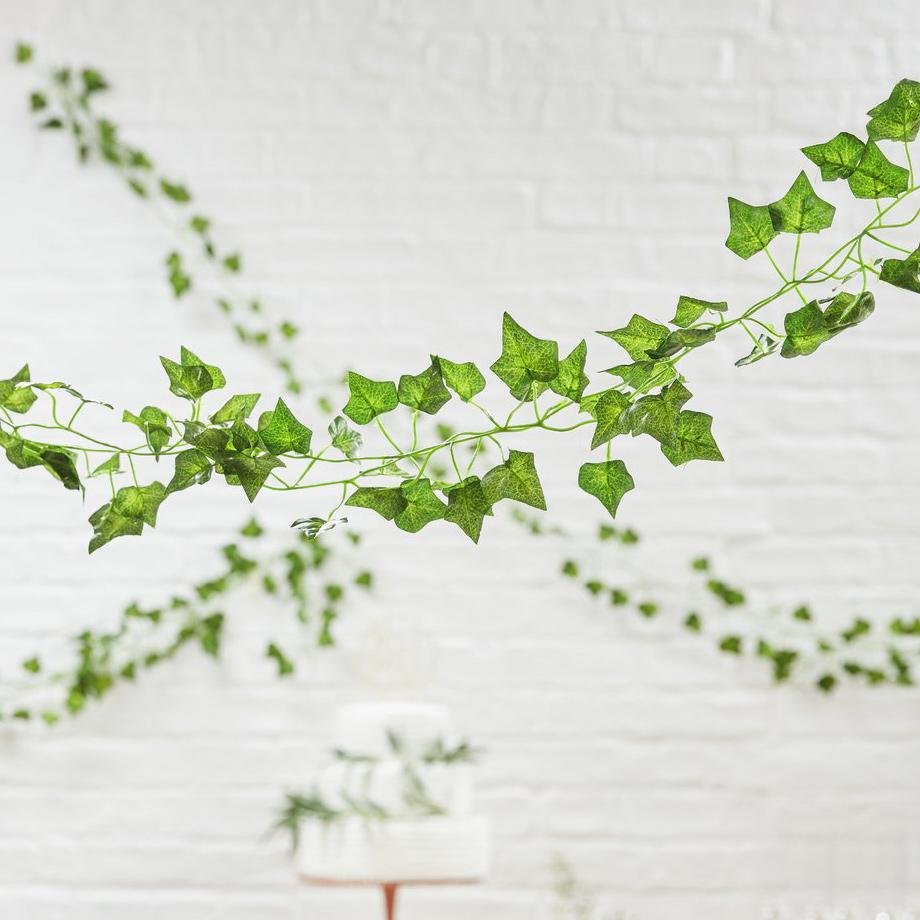 Botanical baby shower garland.