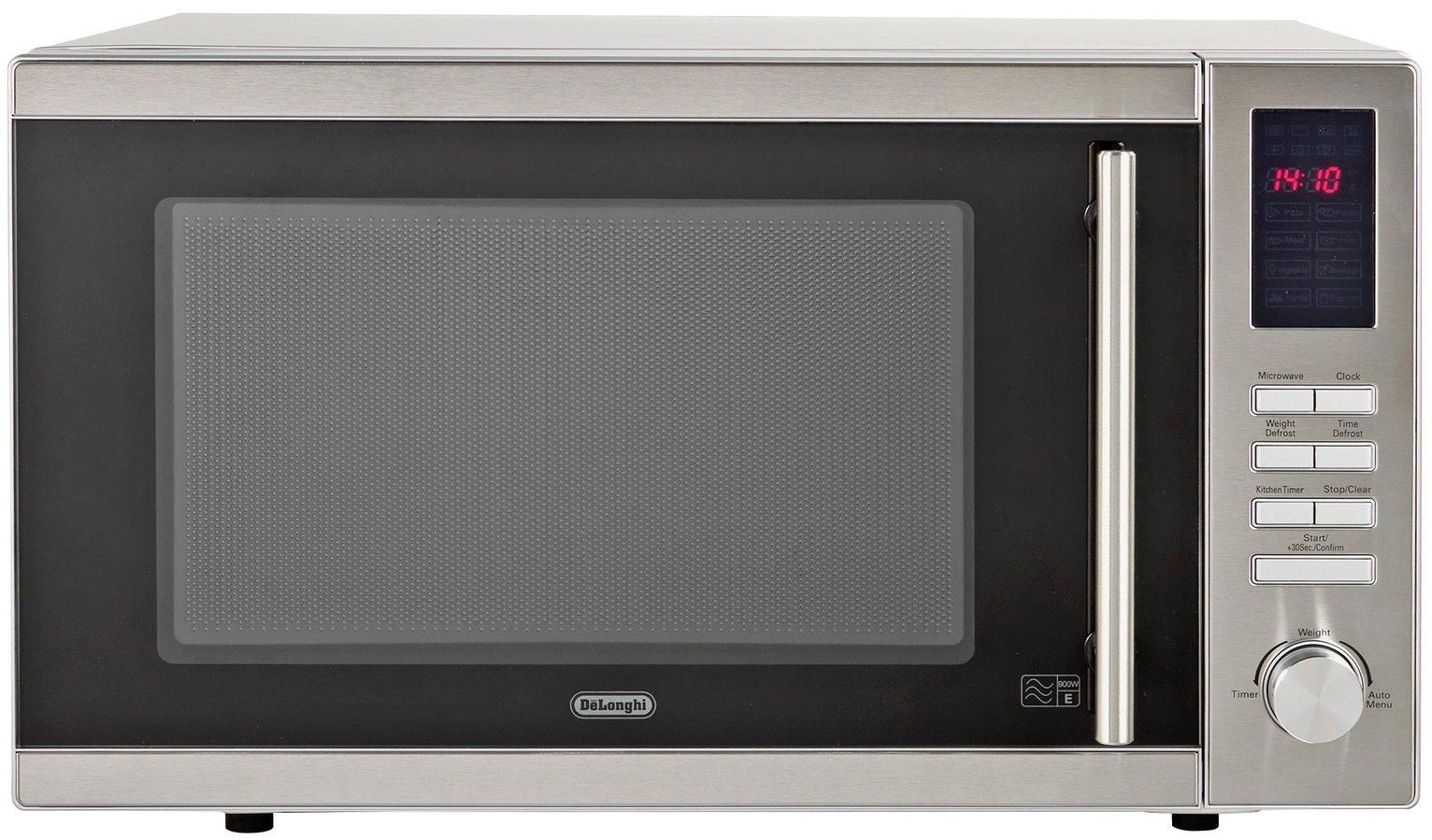 DeLonghi - Standard Microwave -AM9 -Silver