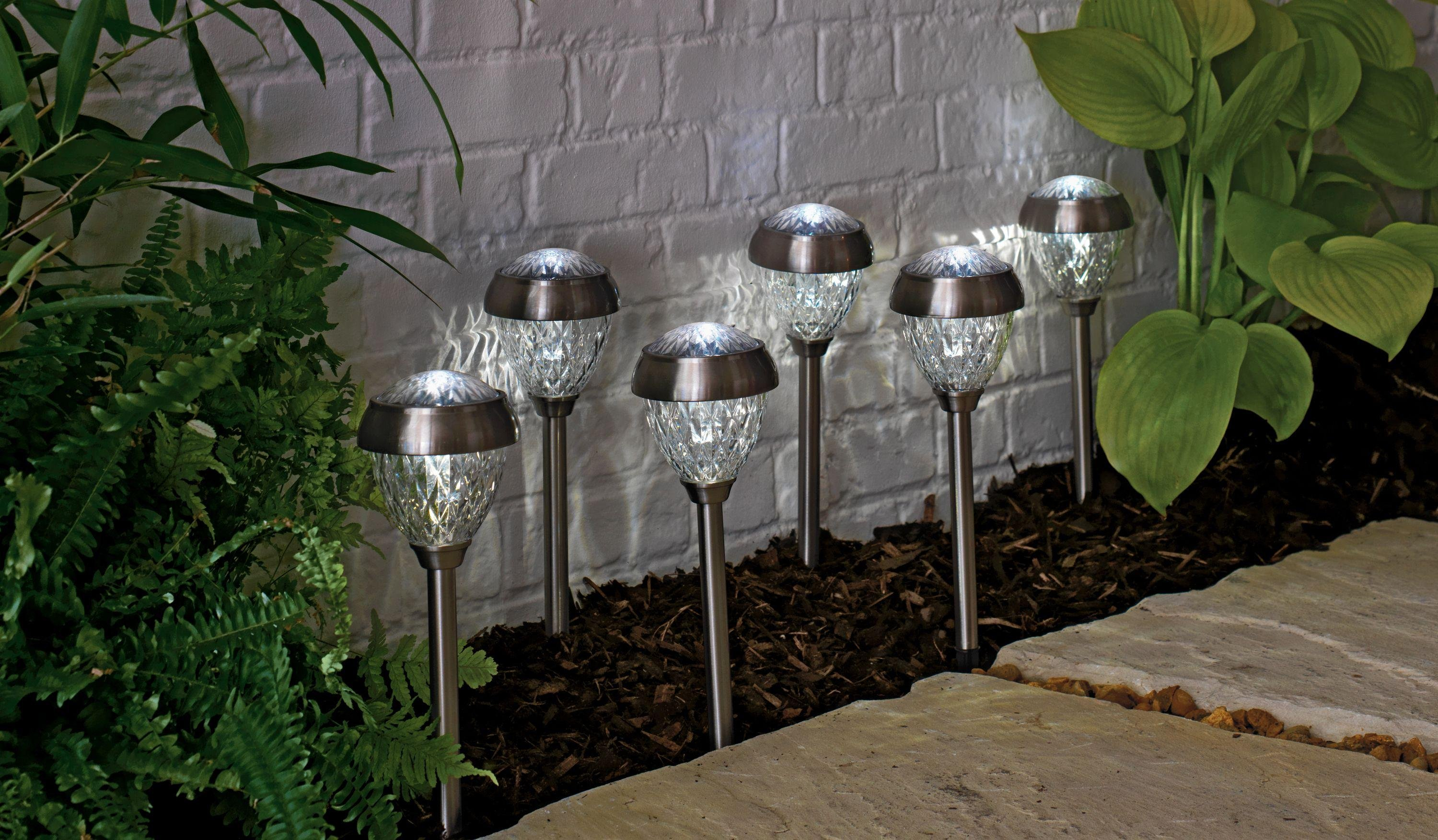 Buy Collection Set of 6 Solar Crown Twin Lights - S ...