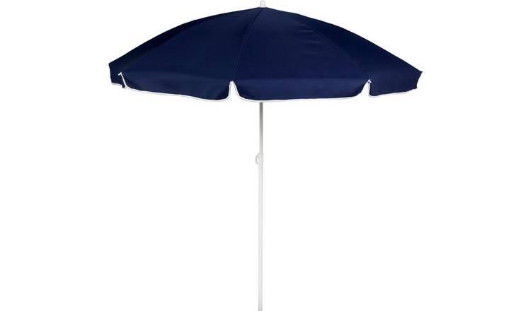 buy online 5f8d5 d6bb7 Buy Argos Home 1.6m Garden Parasol - Blue | Garden parasols and bases |  Argos