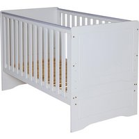 BabyStart Cot Bed (White)