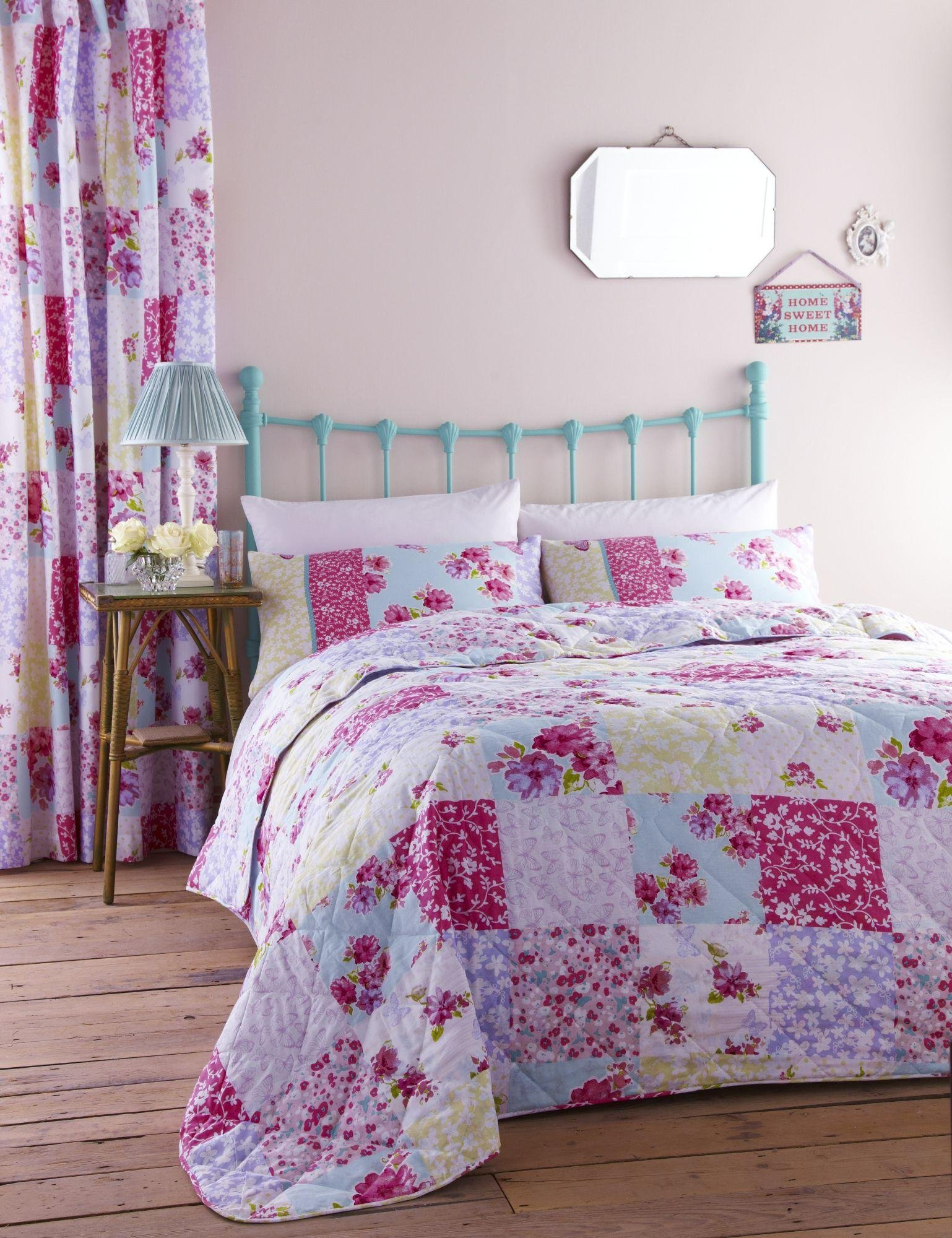 catherine lansfield gypsy bedspread  patchwork