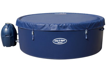 Image of a Monaco 8 Person Lay-Z-Spa Hot Tub.