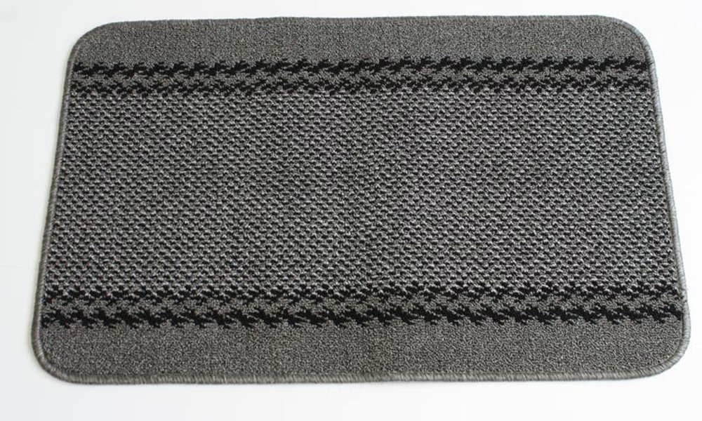 Kilkis Machine Washable Rug - 100x150cm - Charcoal