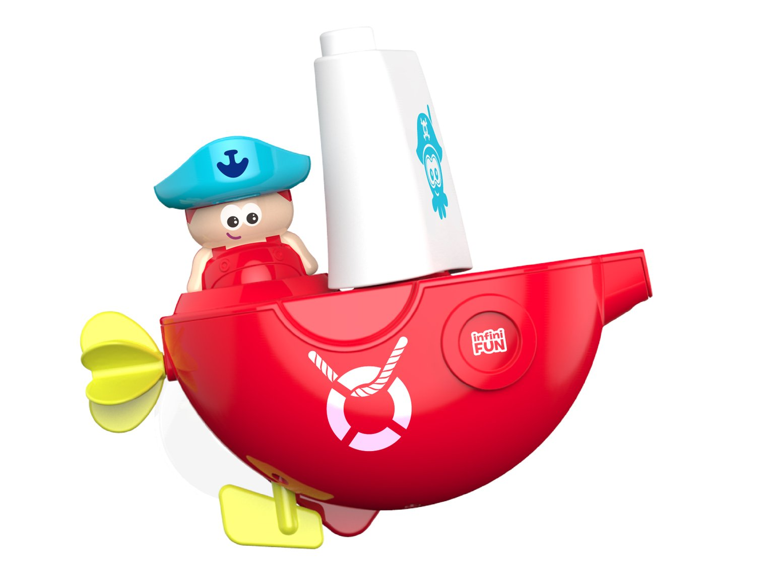 Infinifun Bath Time Pirate Boat
