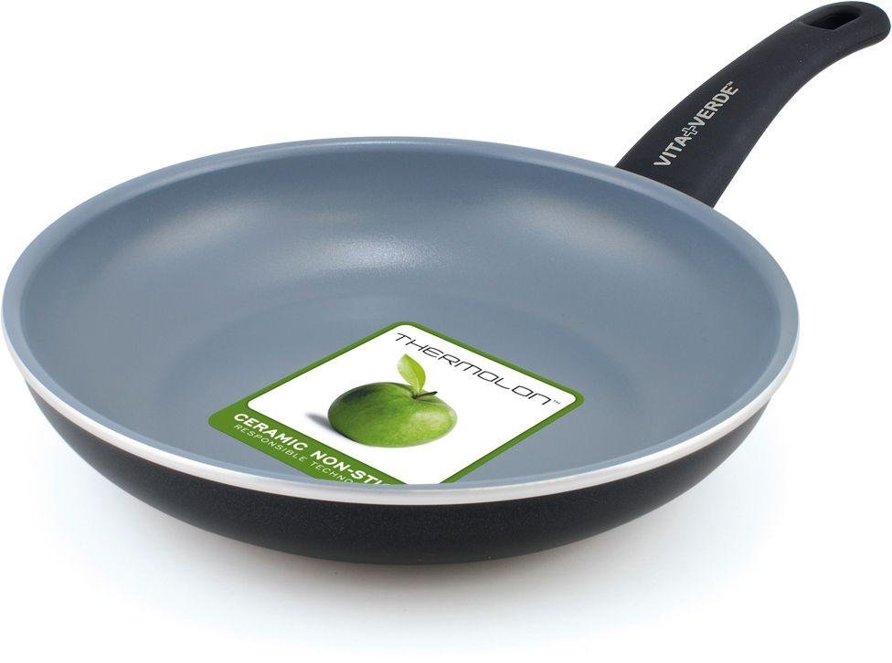 buy vita verde by greenpan 20cm ceramic nonstick frying pan at argoscouk your online shop for frying pans and woks cookware cooking - Non Stick Frying Pan