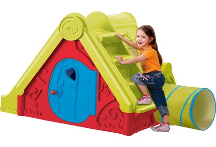Image of the Chad Valley Funtivity Playhouse.