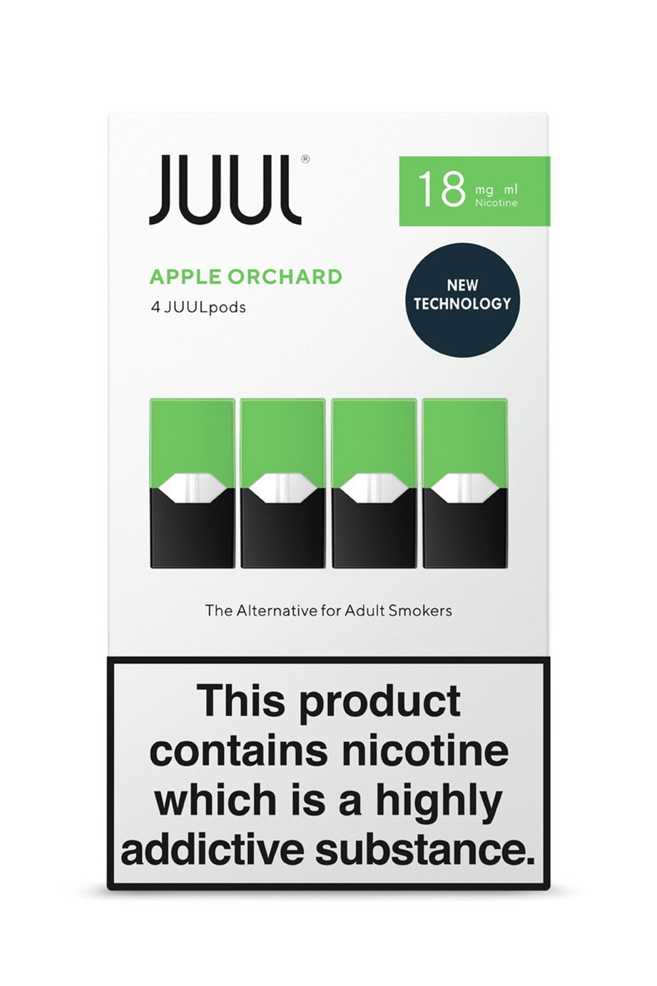 JUUL Apple Orchards PODs 18mg