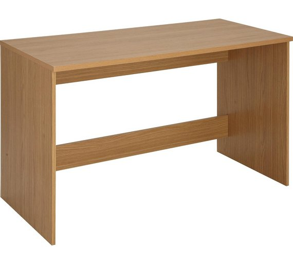 Buy HOME Walton Office Desk - Oak Effect at Argos.co.uk - Your ...