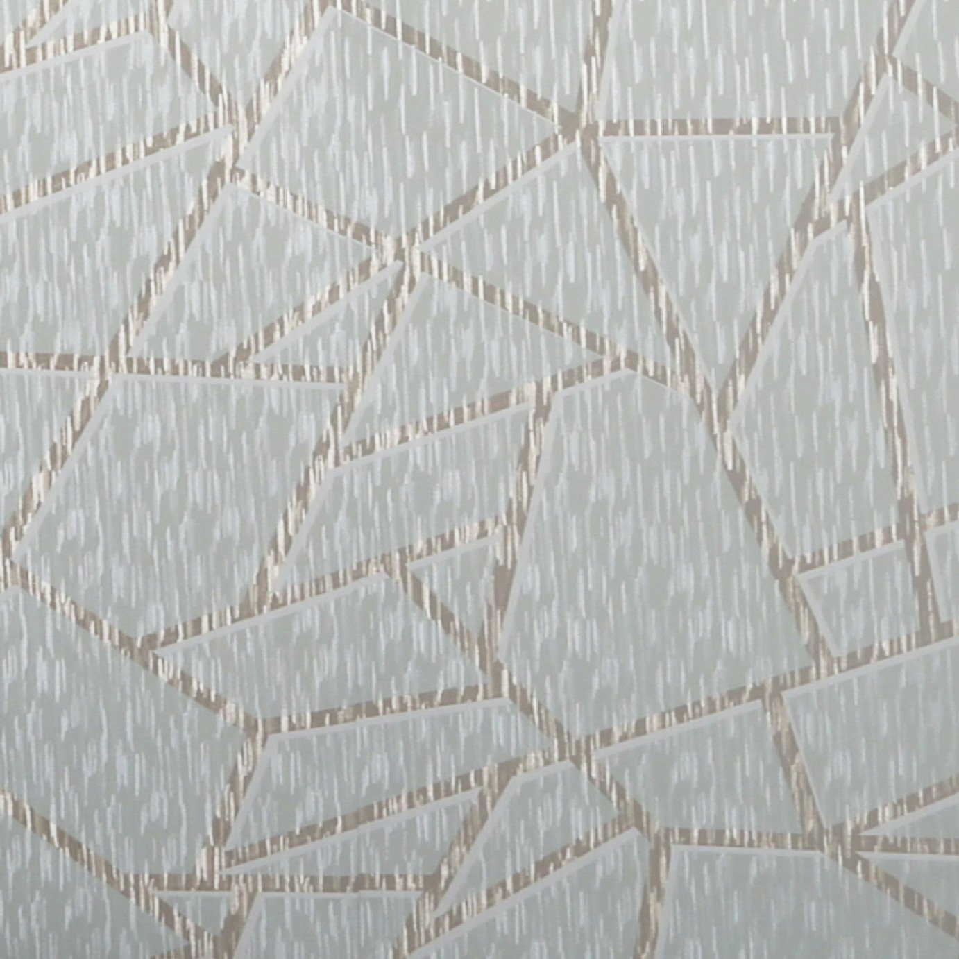 Sublime Theia Geometric Duck Egg & Gold Wallpaper