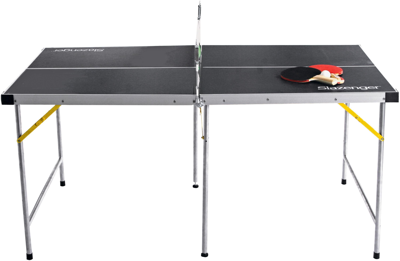Slazenger Indooroutdoor Foldable Table Tennis Table