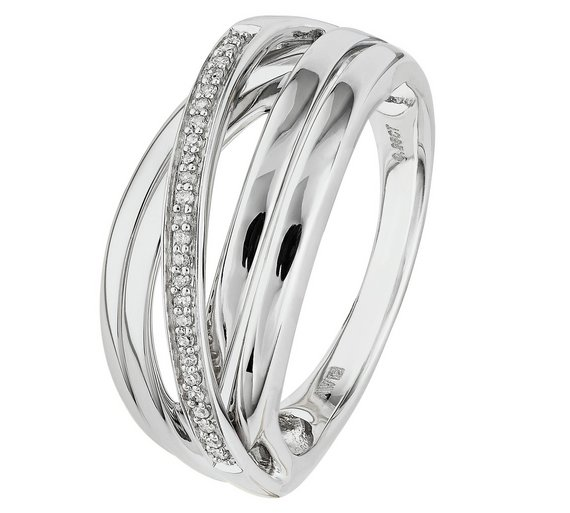 ring carat crossover rings royal gold sp boutique diamond white sc jewellery