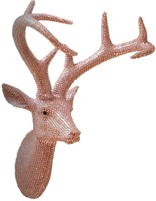 arthouse-star-studded-stag-wall-art-pastel-pink