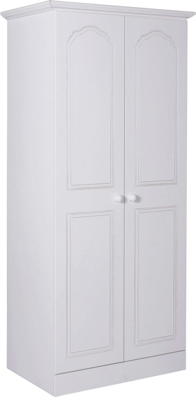 Argos Home Stratford 2 Door Wardrobe - White