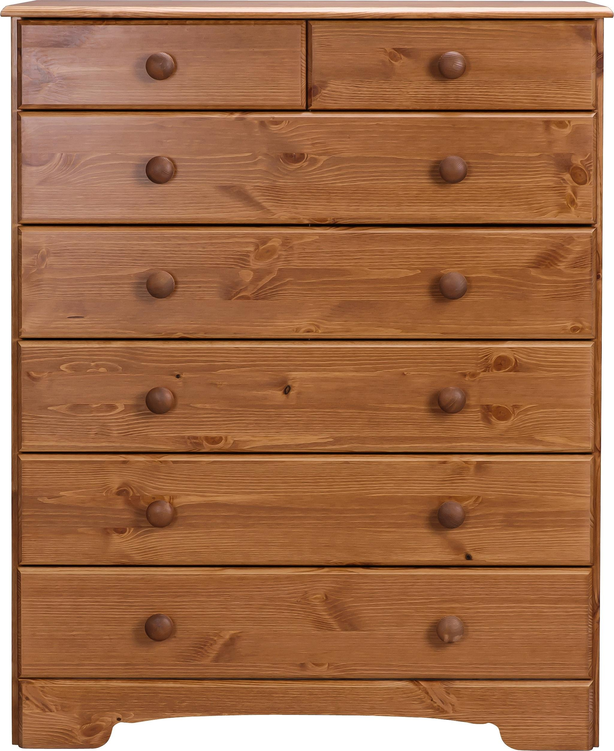 Argos Home Nordic 5+2 Drawer Chest - Pine