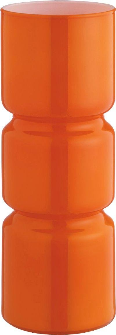 Image of Habitat - Fitz Glass - Table Lamp - Orange