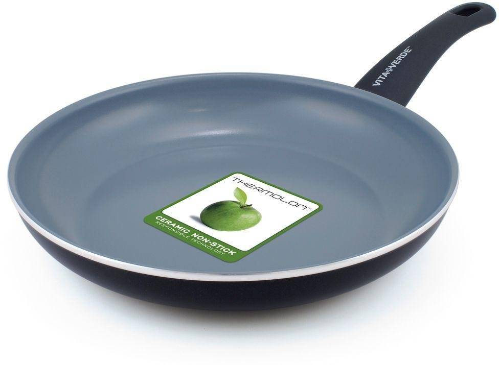 buy vita verde by greenpan 24cm ceramic nonstick frying pan at argoscouk your online shop for frying pans and woks cookware cooking - Frying Pans