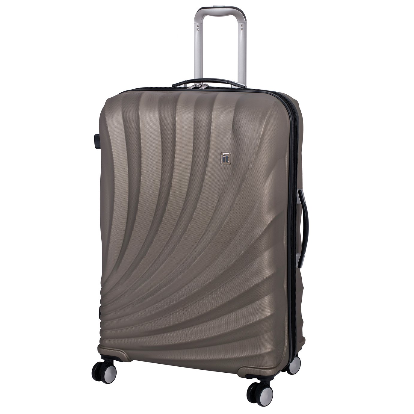 it Luggage Pagoda Large Expandable 8 Wheel Suitcase - Gold