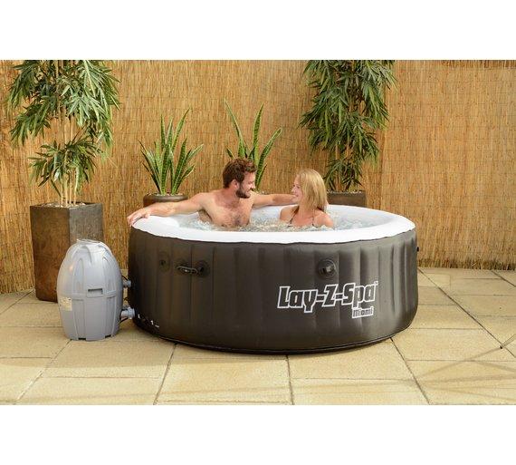 Buy miami 2 4 person lay z spa hot tub hot tubs spas and miami 2 4 person lay z spa hot tub publicscrutiny Choice Image