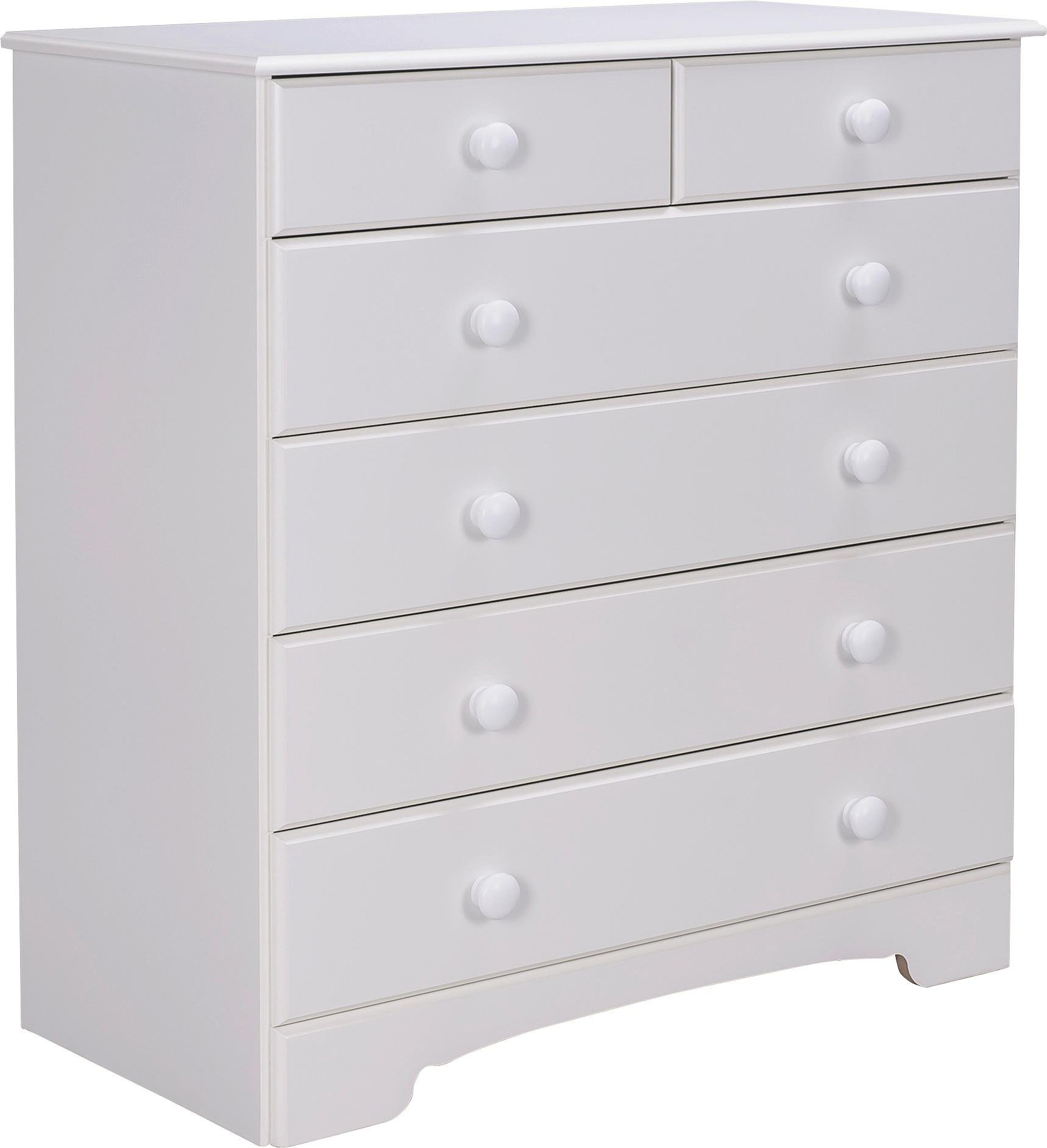 Home Nordic  Drawer Chest Soft White