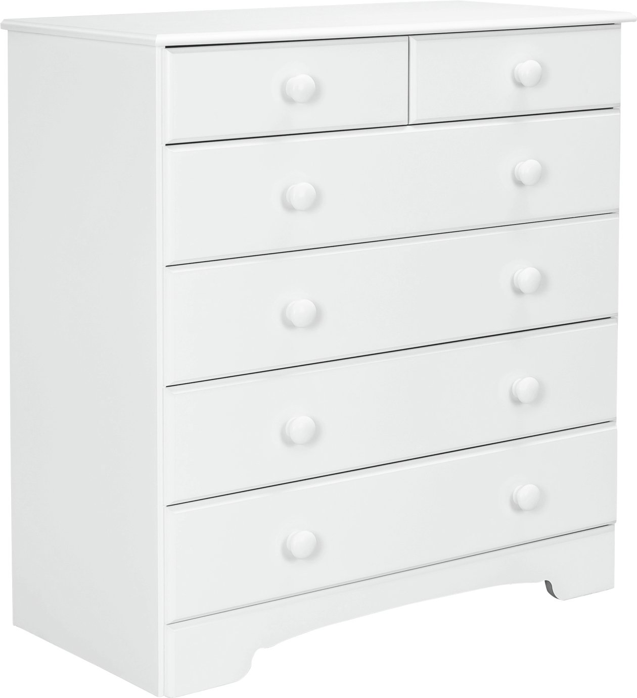 Argos Home Nordic 4+2 Drawer Chest - White