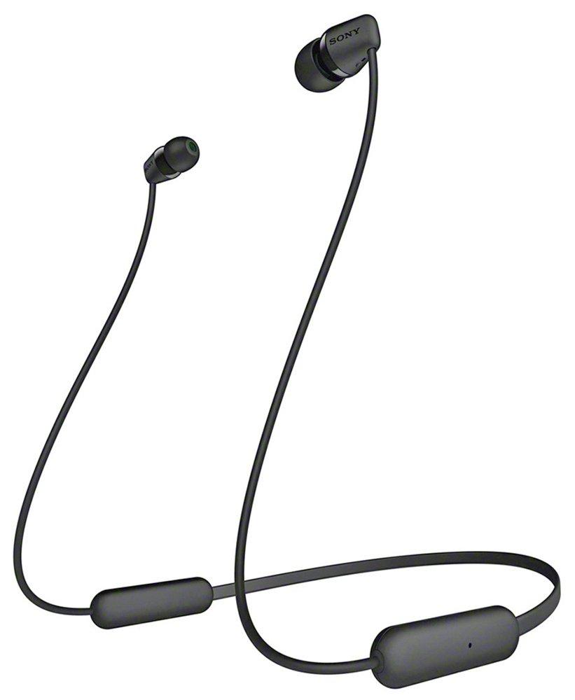 Sony WI-C200 In-Ear Wireless Headphones - Black