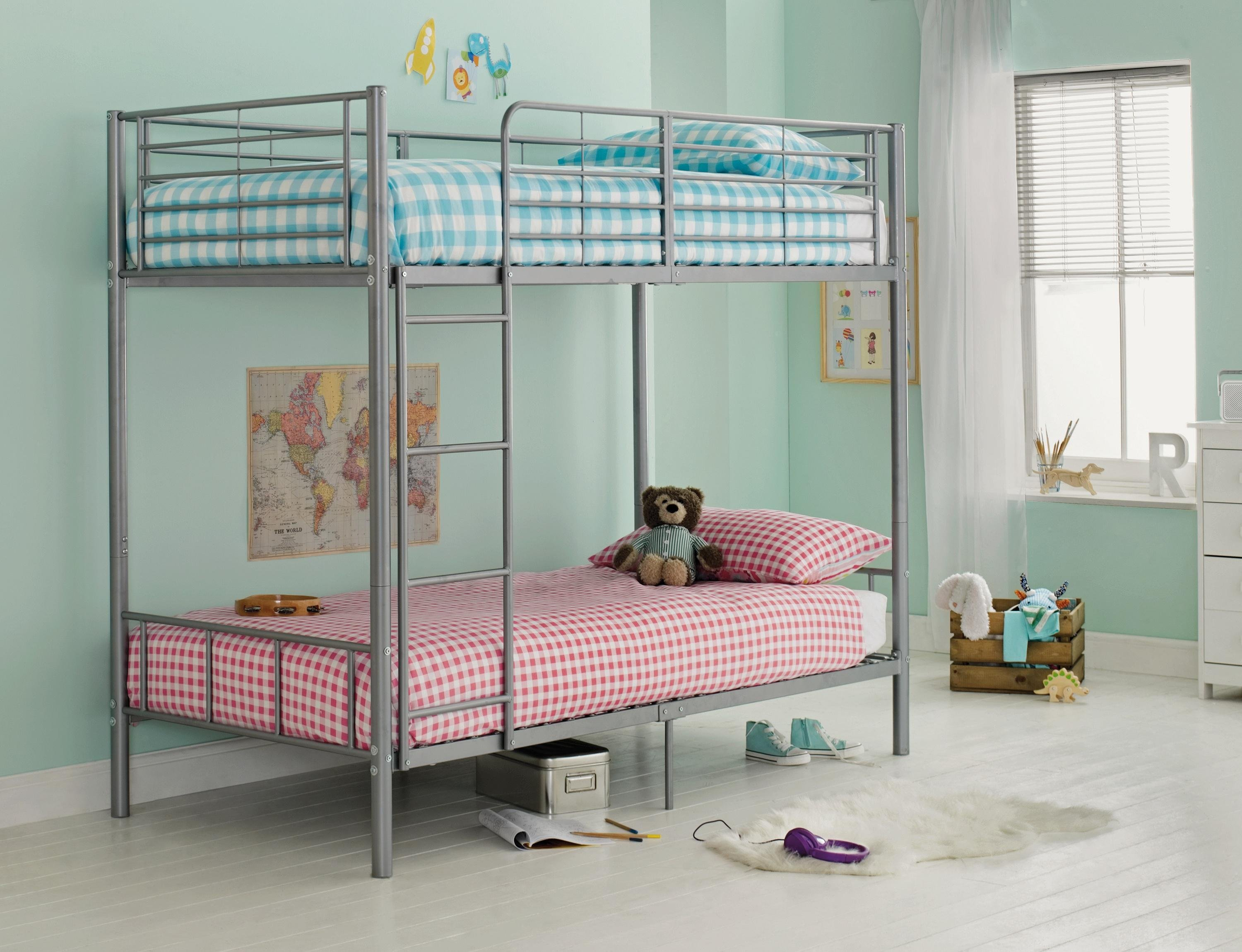 maddison-single-bunk-bed-frame-silver