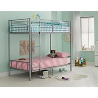 Maddison - Single Bunk Bed Frame - Silver