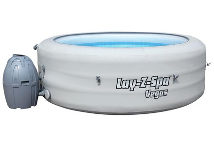 Image of the Bestway Vegas 6 Person Lay-Z-Spa.