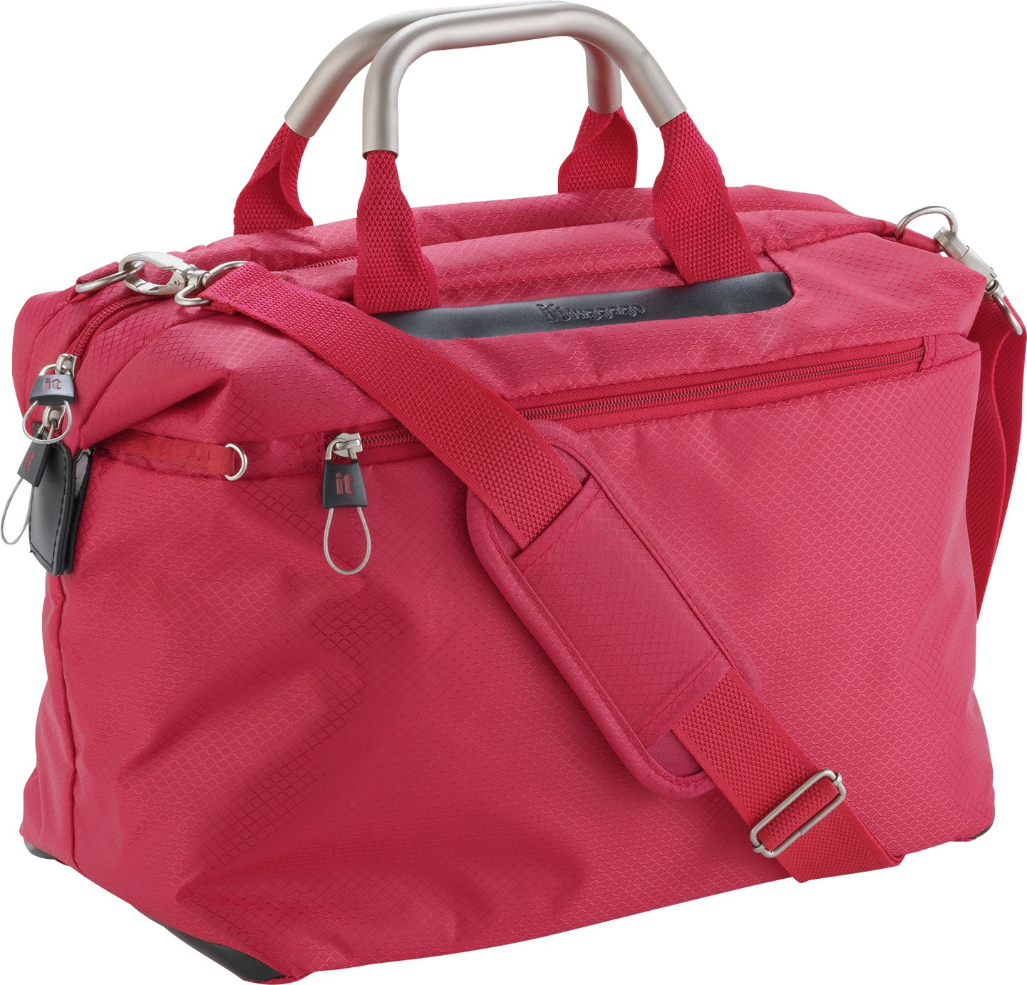 IT World's Lightest Small Cabin Holdall - Red lowest price