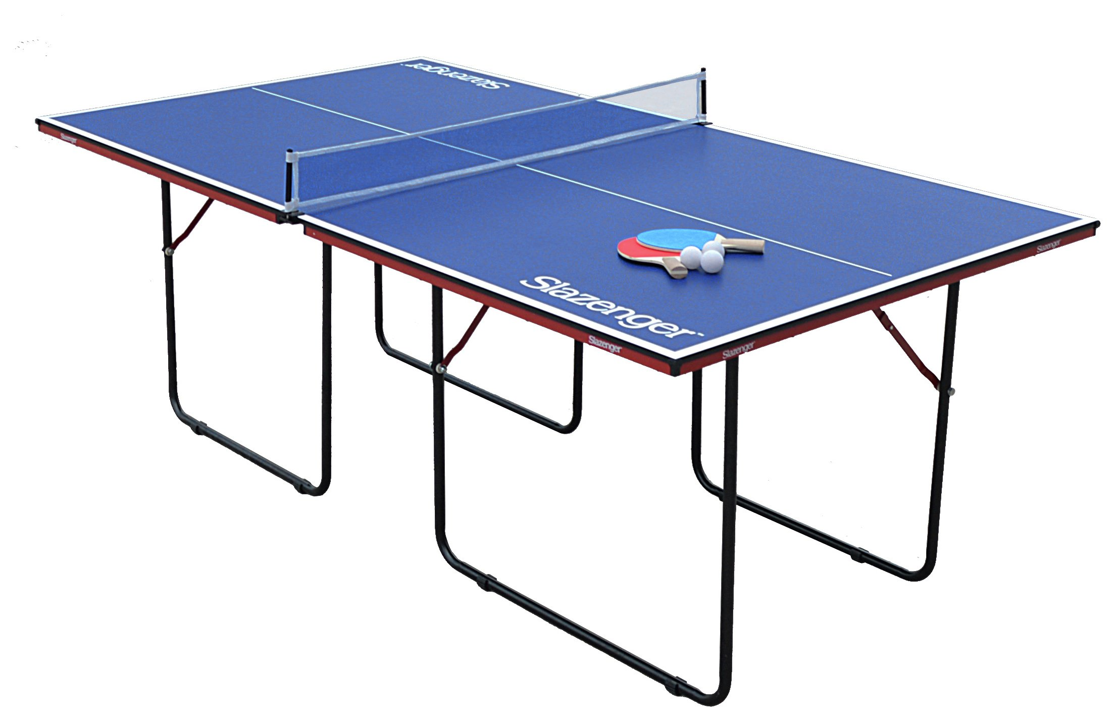 Slazenger junior 3 4 size indoor table tennis table 89 for 99 normal table