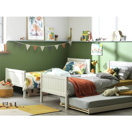 Buy Argos Home Detachable White Bunk Bed With Trundle