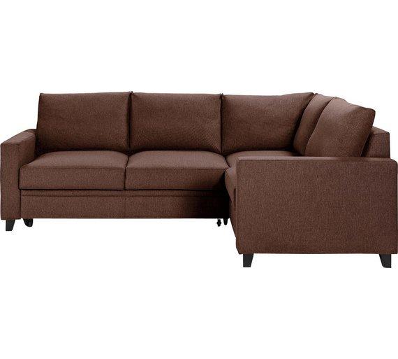 Buy Hygena Seattle Fabric Right Hand Corner Sofa Bed