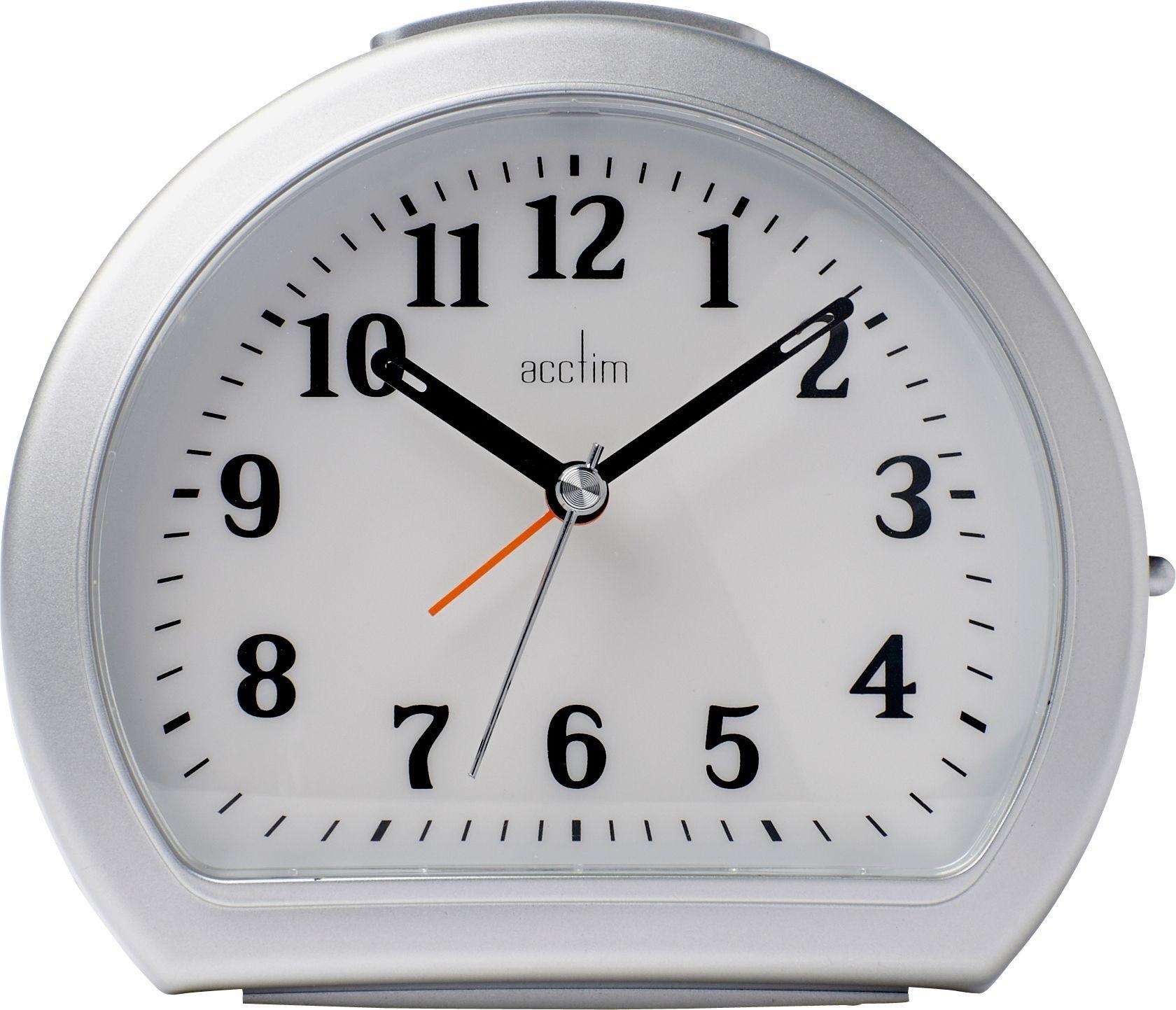 Black Kitchen Clock Argos: Acctim Central Smartlite Alarm Clock