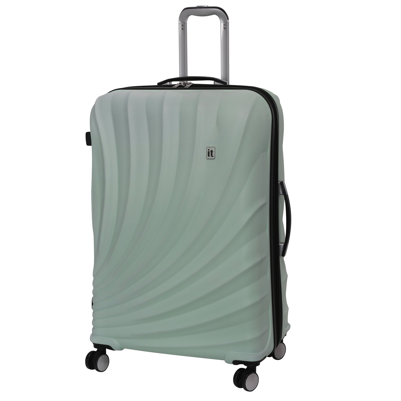 it Luggage Pagoda Large Expandable 8 Wheel Suitcase - Pastel