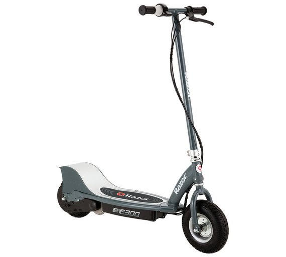 Buy razor e300 electric scooter grey at for Toys r us motorized scooter