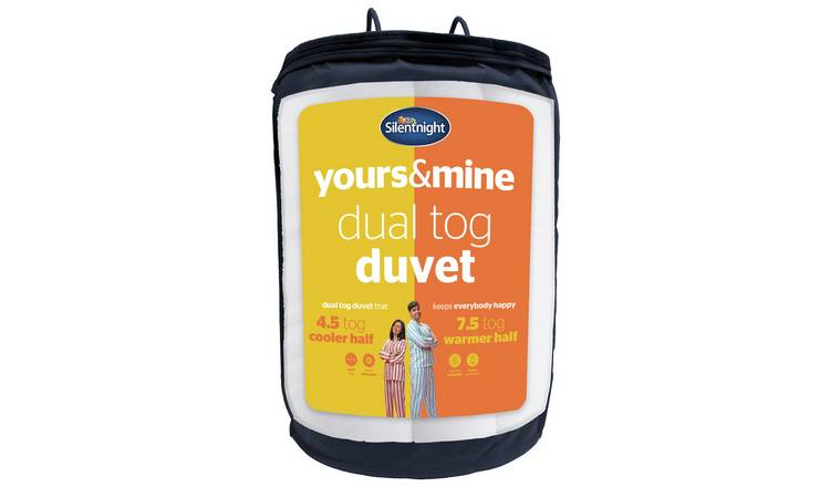 Silentnight Yours and Mine 7.5 Tog Duvet - Kingsize