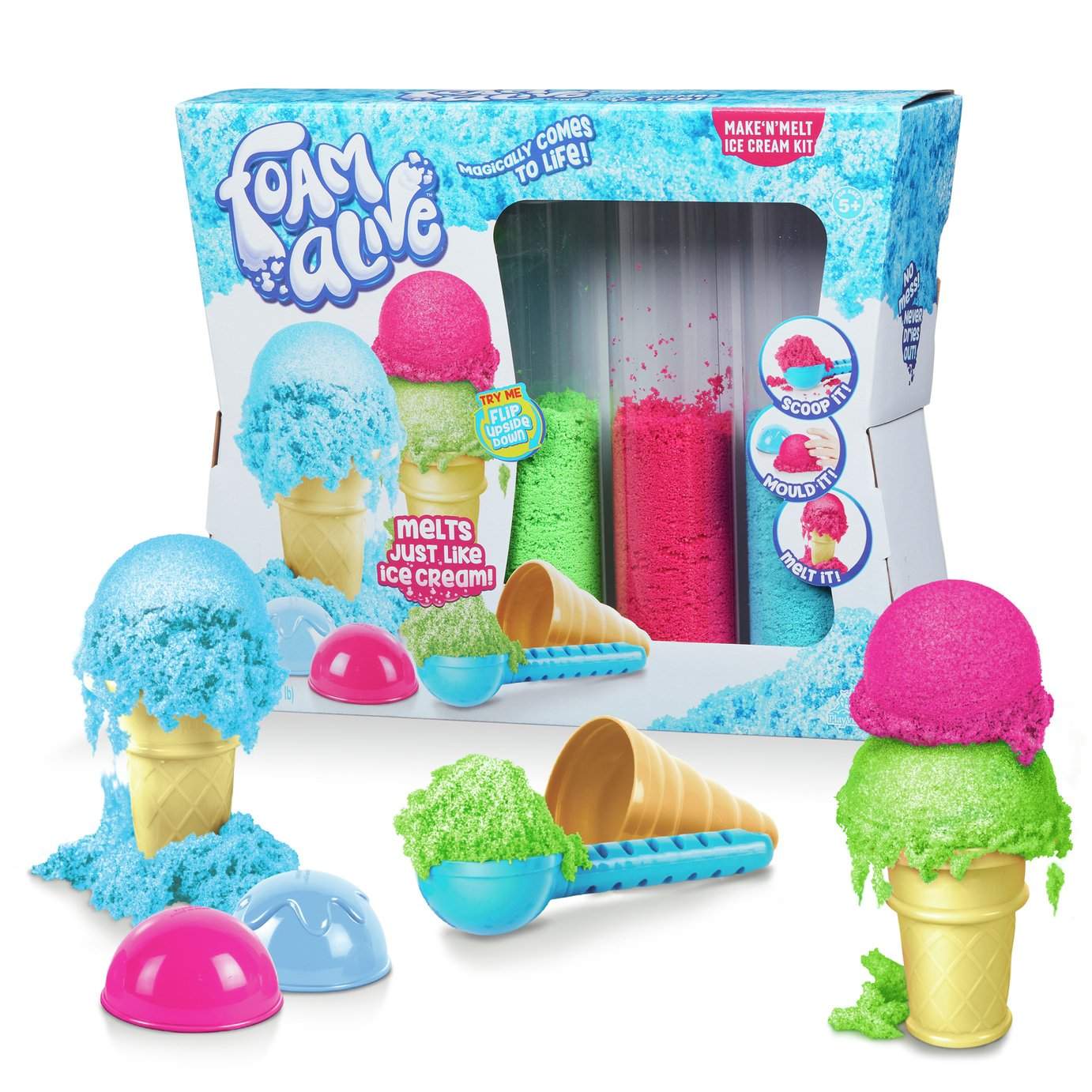 Foam Alive Make 'N' Melt Ice Cream Kit