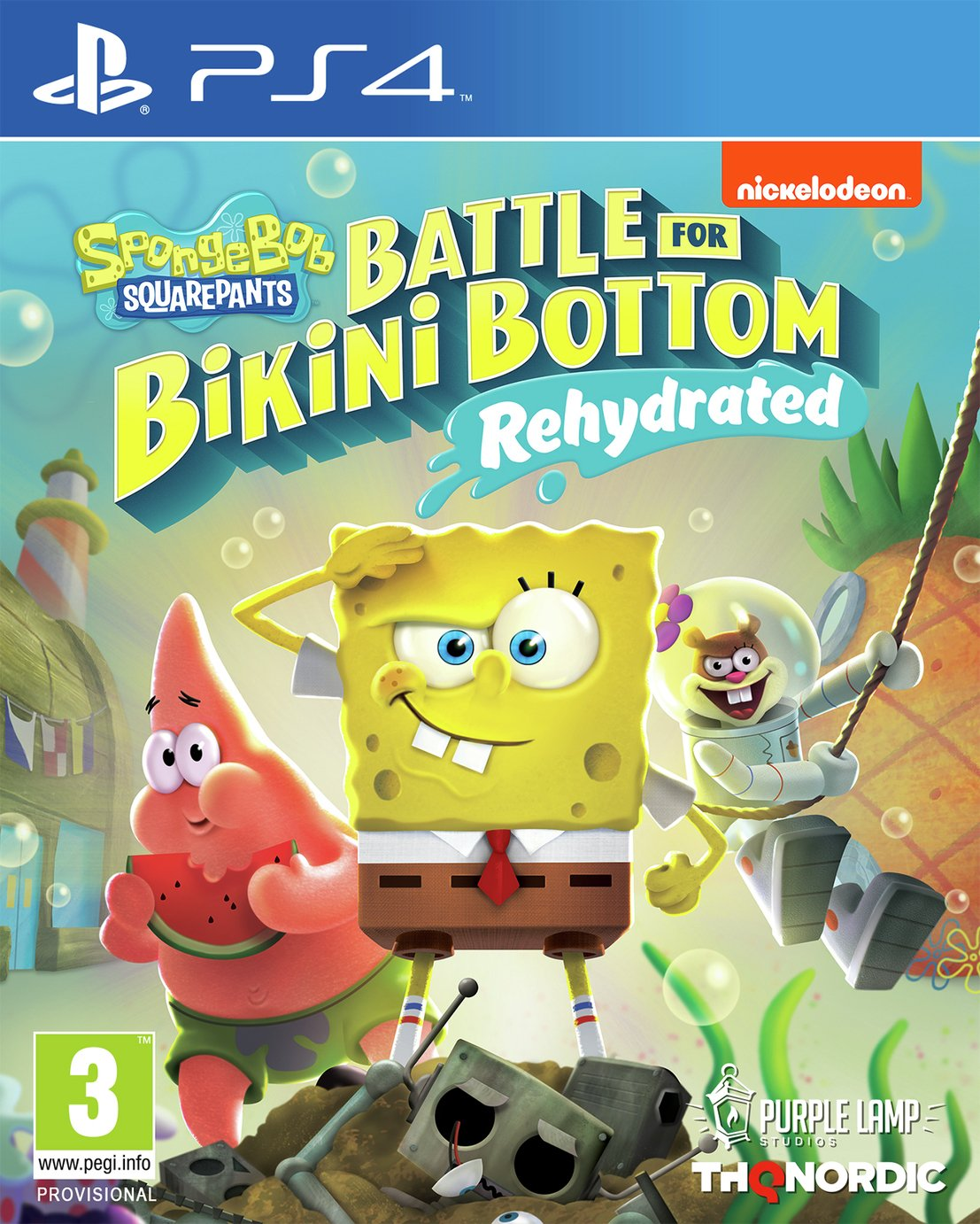 Spongebob Squarepants Battle of Bikini Bottom PS4 Pre-Order