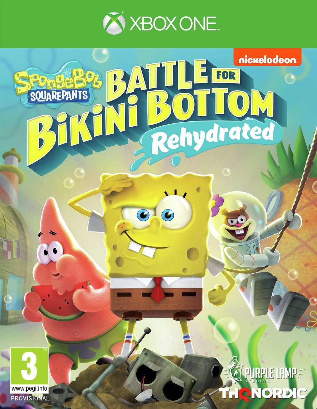 Spongebob Squarepants Battle Bikini Bottom Xbox Pre-Order