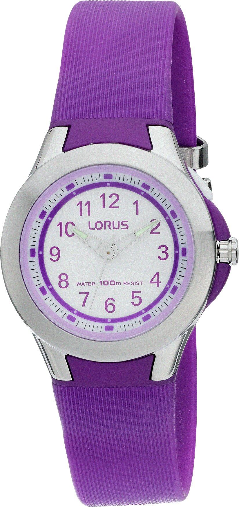 Lorus Ladies' Purple Analogue Strap Watch