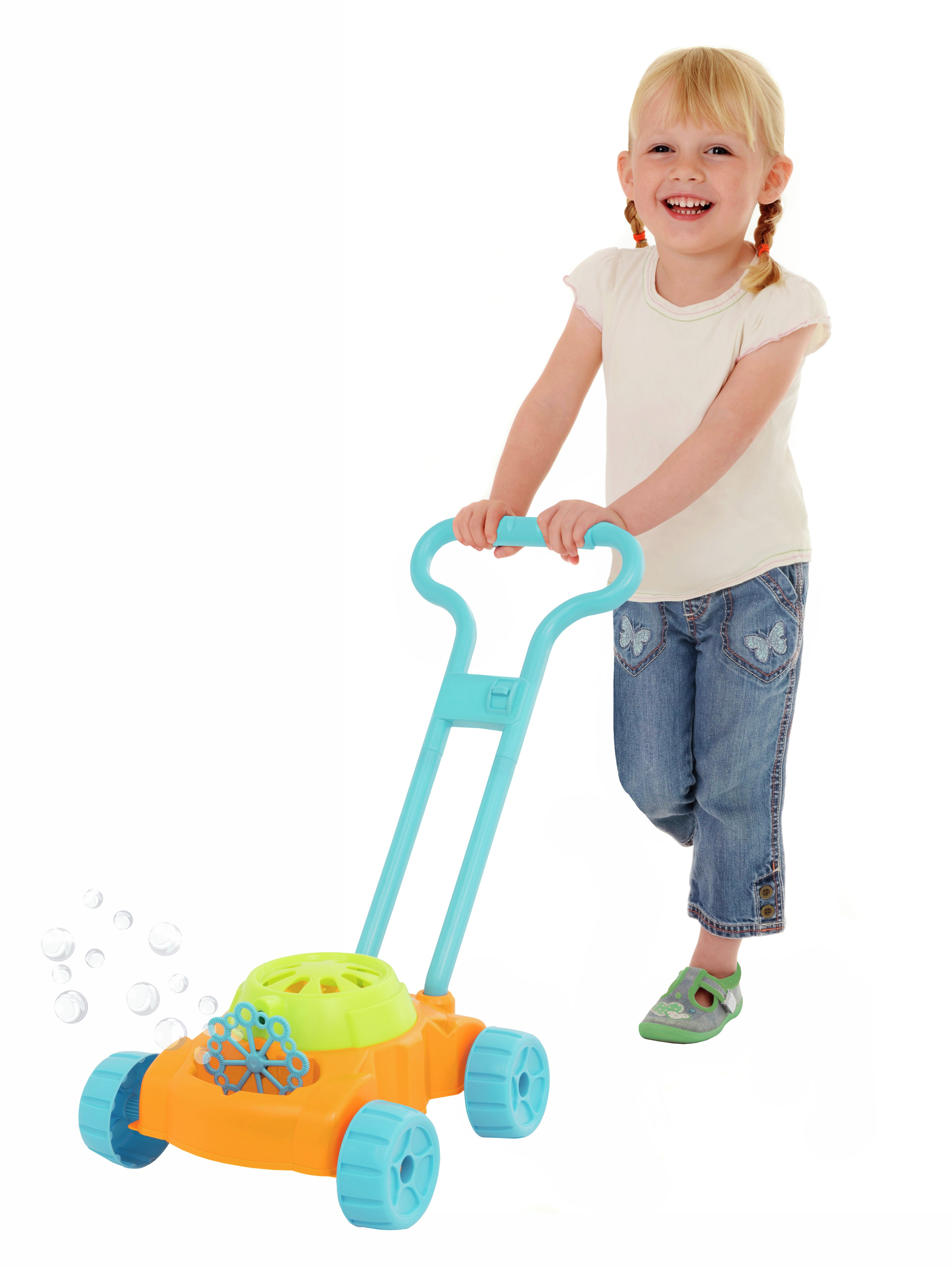 Chad Valley Bubble Lawnmower