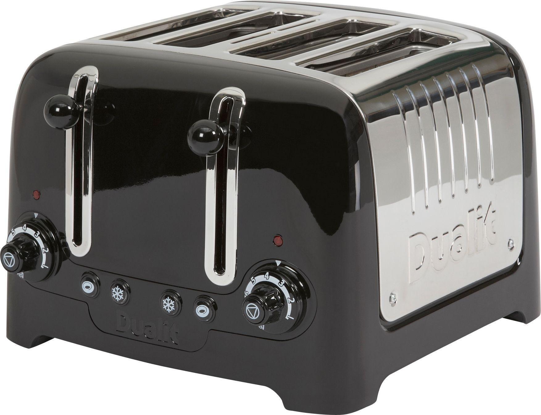 Buy Dualit DPP4 4 Slice Lite Toaster Black at Argos Your