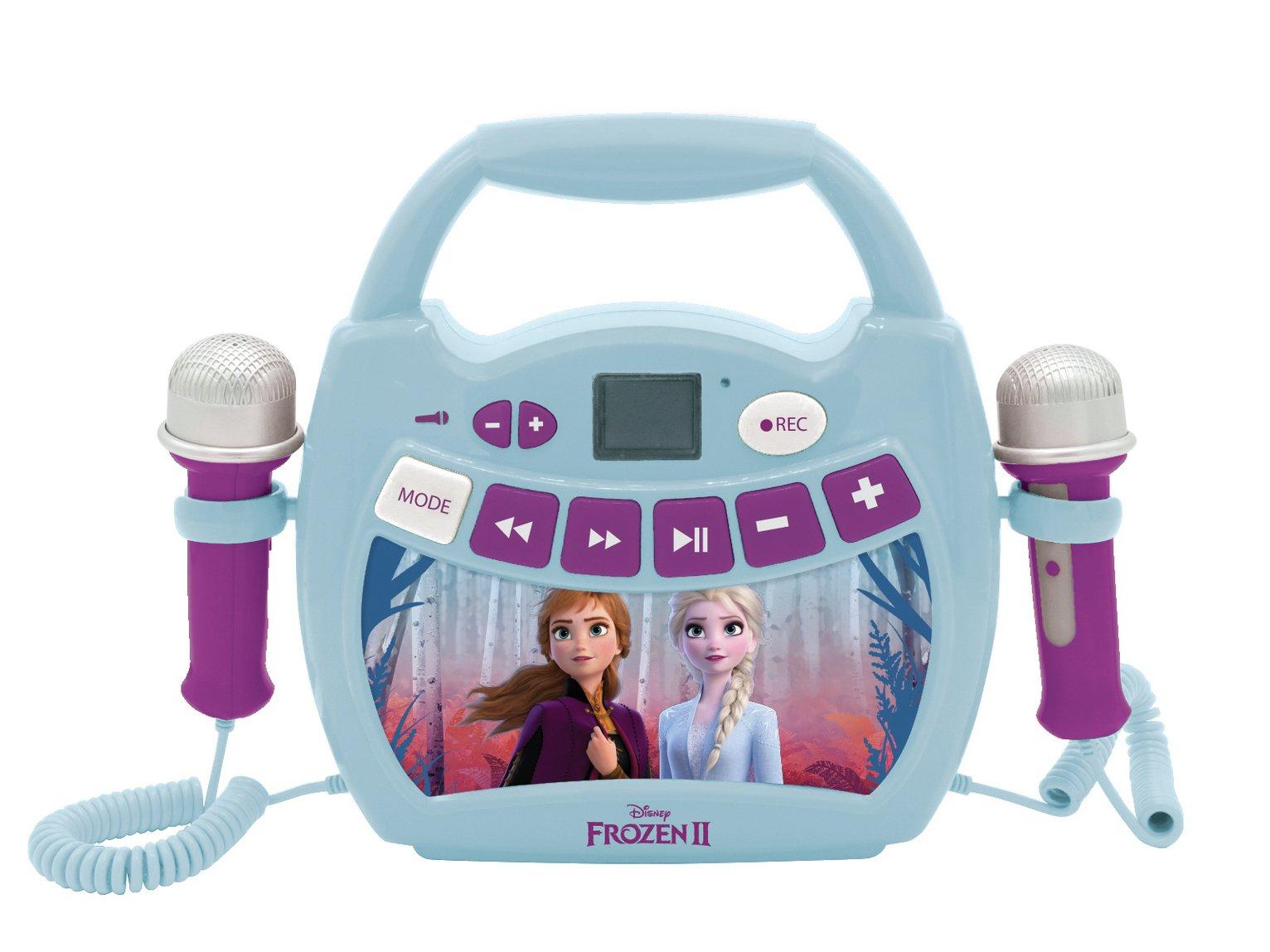 Frozen 2 Bluetooth Karaoke Machine with Microphones