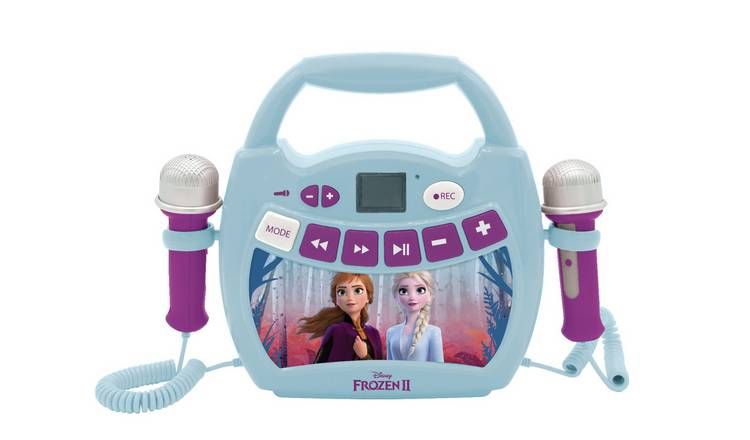 Frozen 2 Bluetooth Karaoke Machine with Microphones