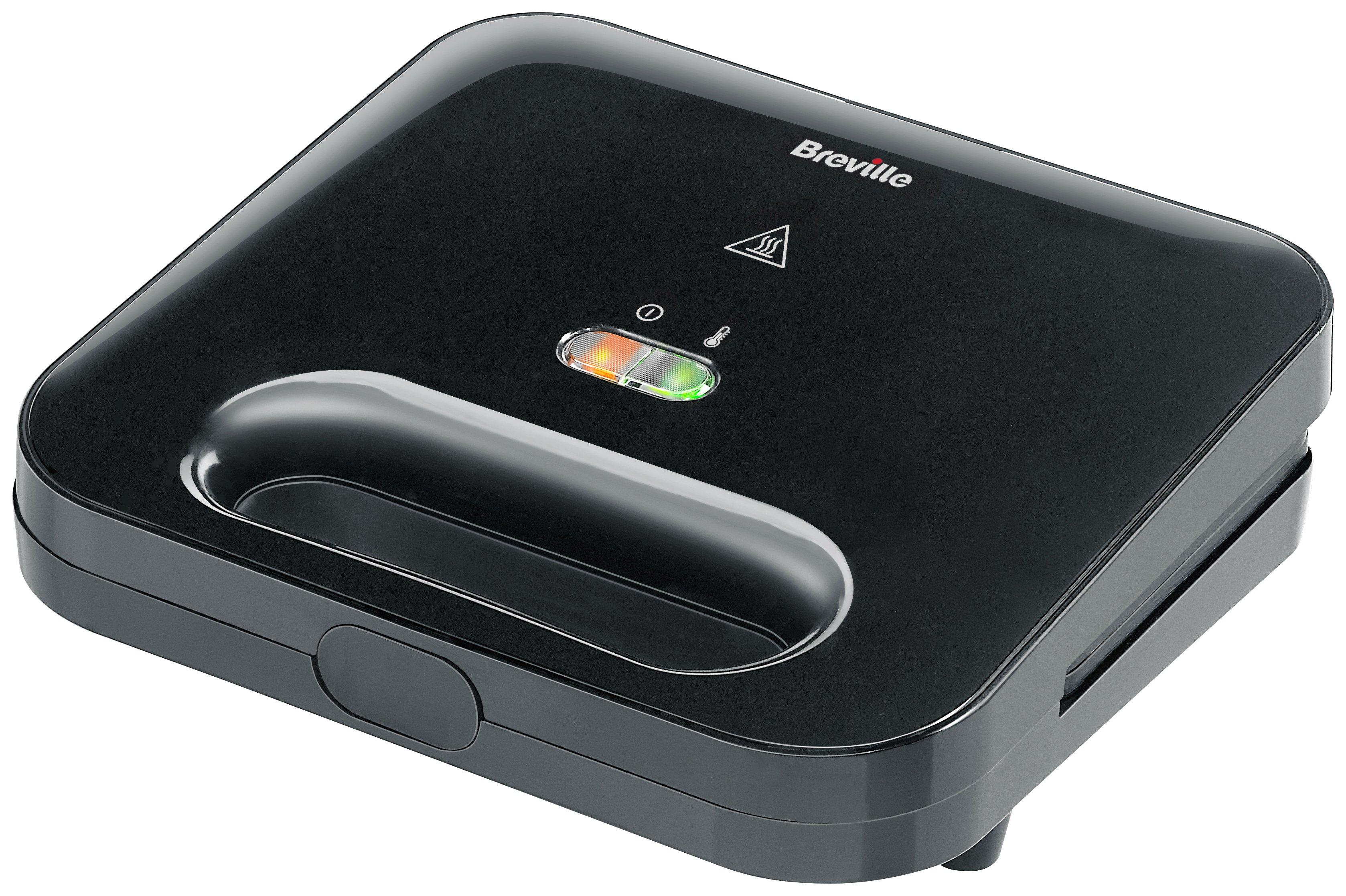 Breville VST057 2 Portion Sandwich Toaster - Black