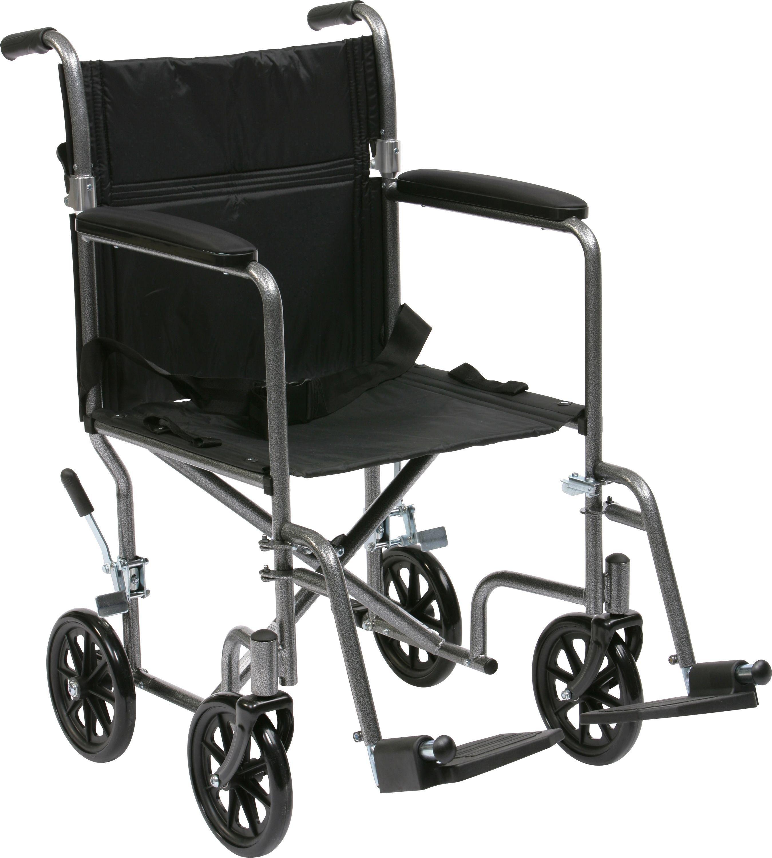 Drive Medical Lightweight Steel Travel Chair