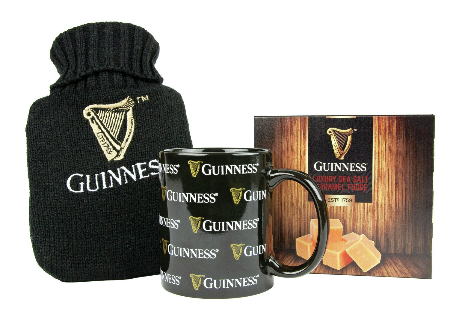Guinness Hot Water Bottle & Hot Chocolate Mug