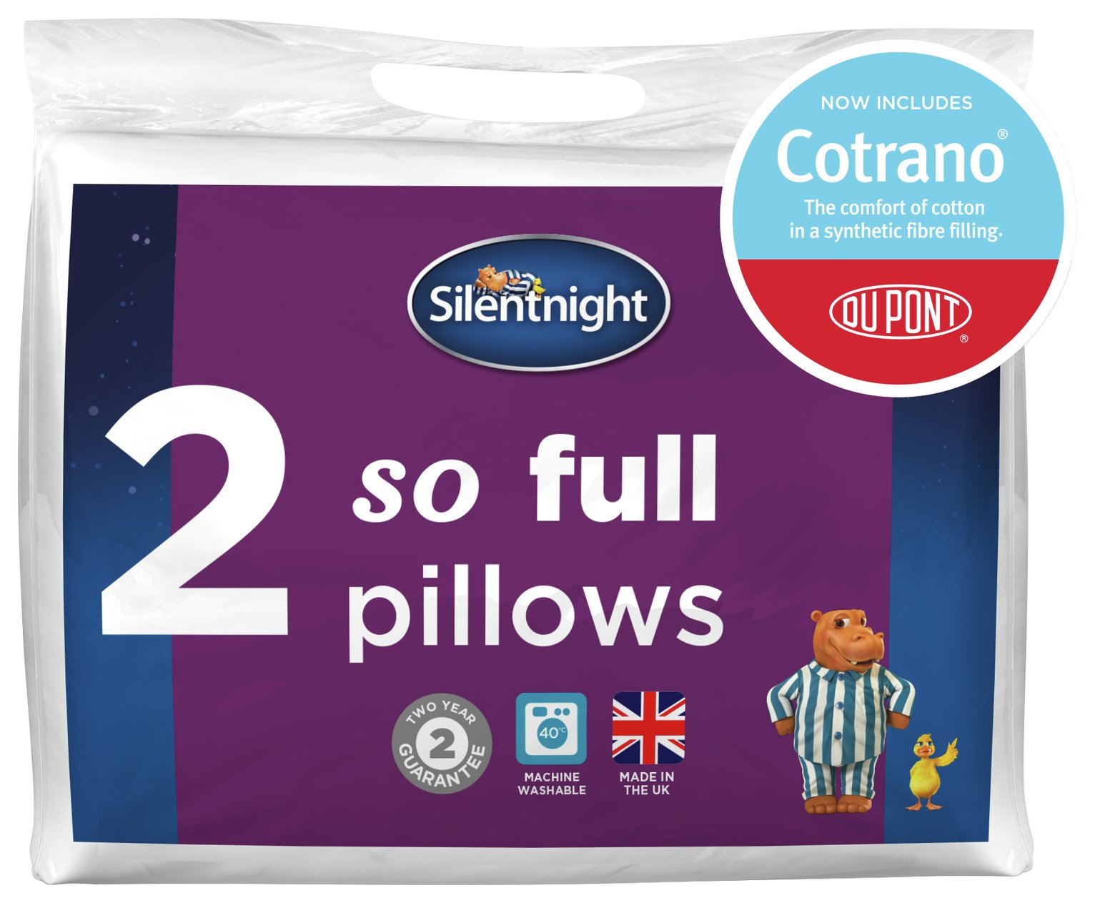 Silentnight So Full Pillow Pair