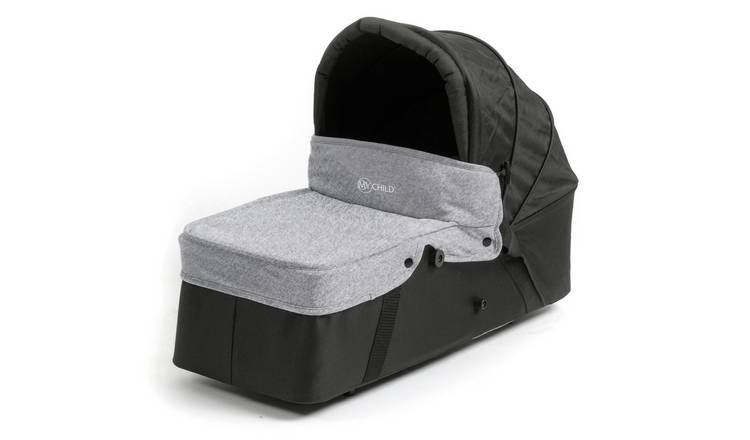 MyChild Easy Twin Main Carrycot - Grey